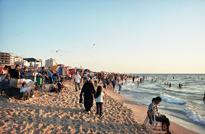 800px-Gaza_Beach by Gus at nl.wikipedia