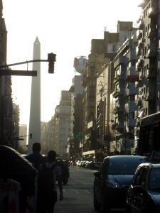 Buenos Aires al atardecer, foto por Natalia Bonilla