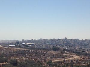 Frontera con Belén, Cisjordania.