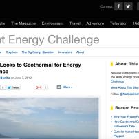 Great Energy Challenge