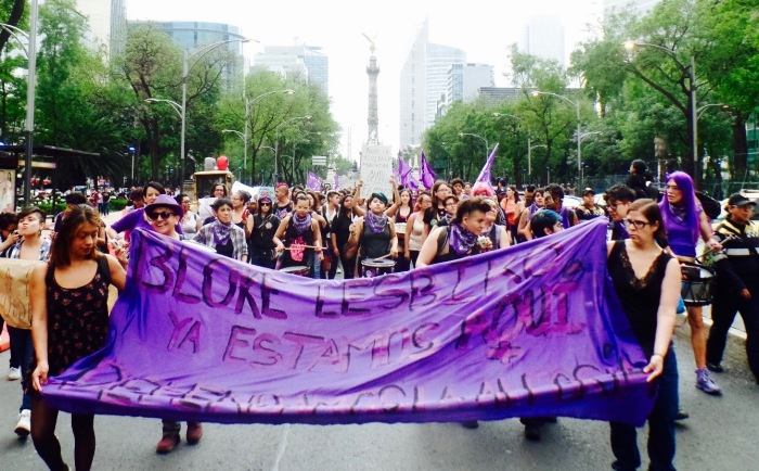 24A y la movilización Ni una menos enMéxico