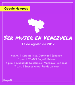 Sermujervzla, 1er evento online featured
