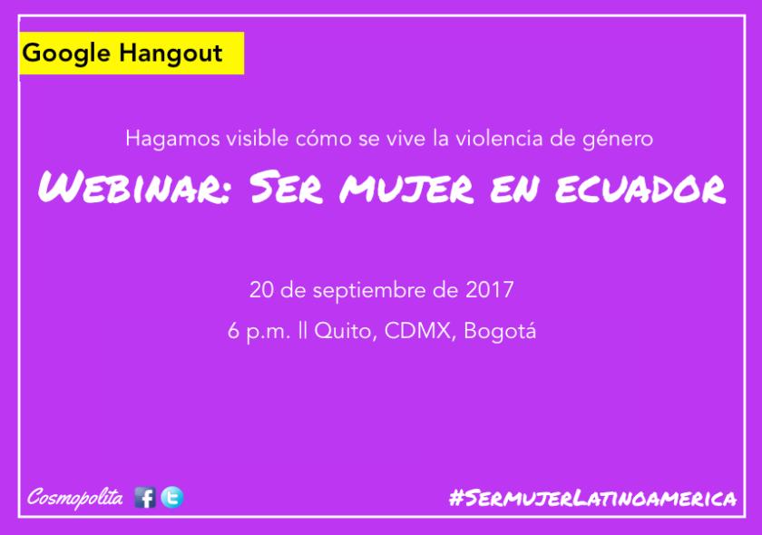 Ser mujer en Ecuador promo.png